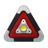 Triunghi luminos pentru semnalizare urgente XF-6889, 500 lm, LED COB, incarcare solara