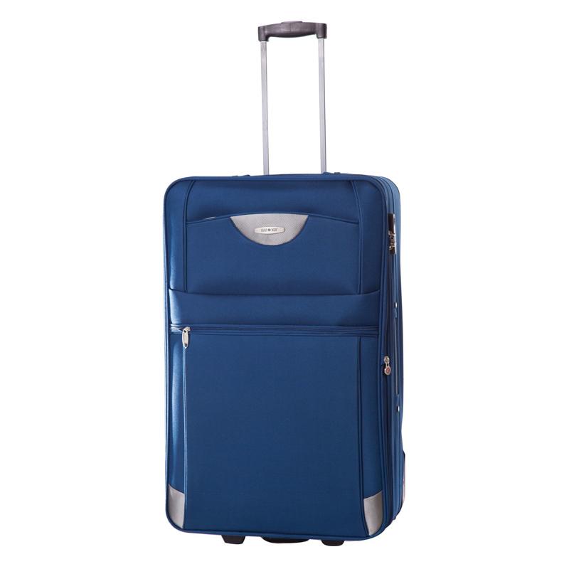 Troler Atlanta Lamonza, 74 cm, Albastru 2021 shopu.ro