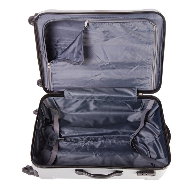 Troler Capri Lamonza New, 69 cm, Argintiu