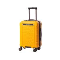 Troler ABS Optic Ella Icon, 70 x 46 x 27 cm, sistem inchidere cu cifru, galben