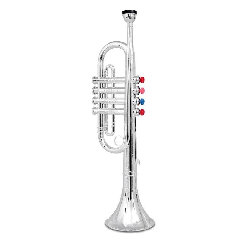 Trompeta pentru copii, 3 ani+, Argintiu 2021 shopu.ro