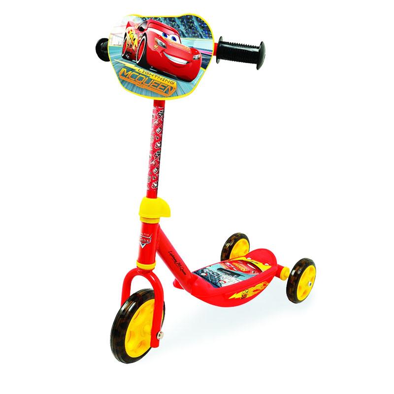 Trotineta pentru copii Cars, suporta 20 kg, 3 ani+ 2021 shopu.ro
