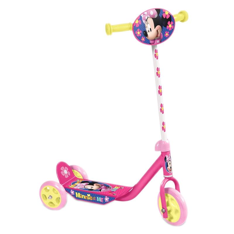 Trotineta pentru fetite Minnie, suporta 20 kg, 3 ani+ 2021 shopu.ro