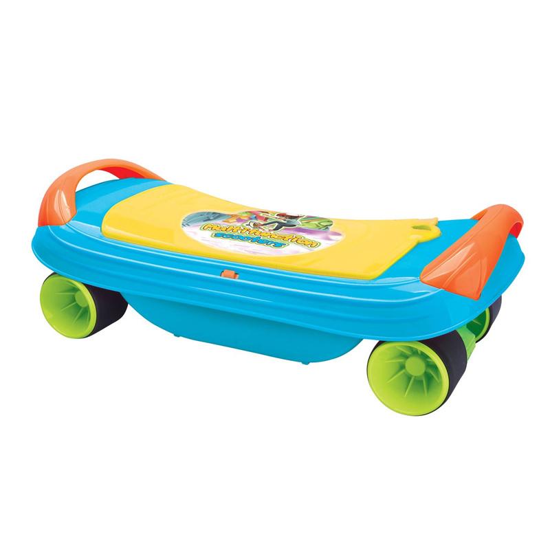 Skateboard 3 in 1 pentru copii, maxim 20 kg, 3 ani+