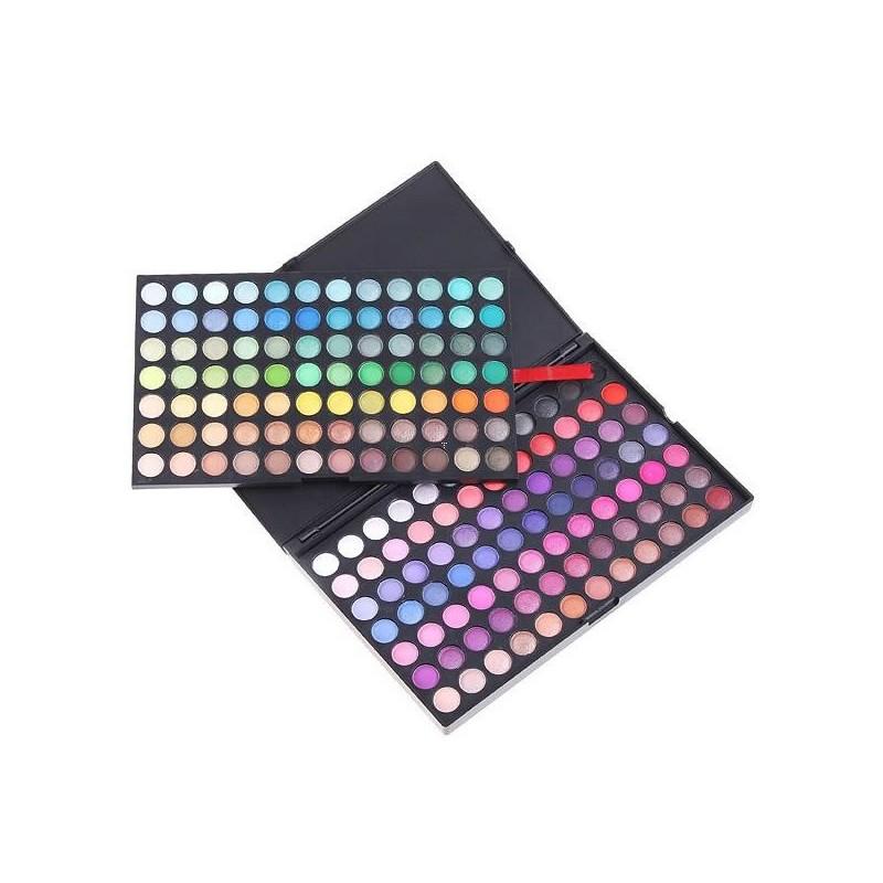 Trusa profesionala de farduri 168-1, 168 culori