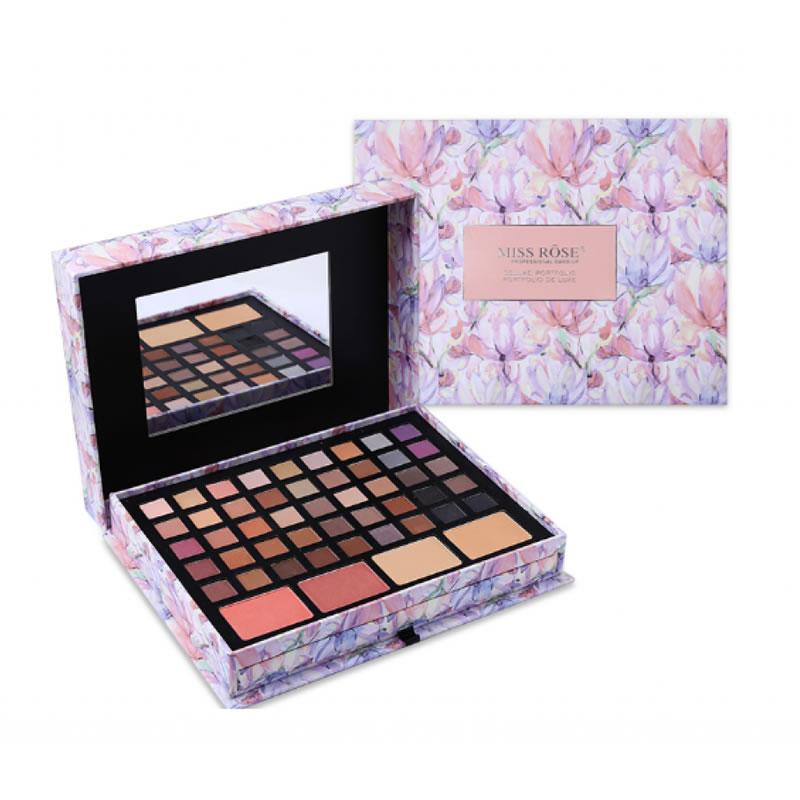 Trusa profesionala make-up Miss Rose MU85 N/Y, 85 de nuante 2021 shopu.ro