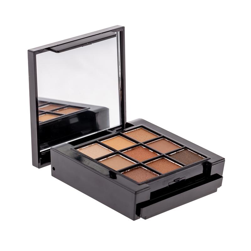 Trusa farduri pentru ochi Mineral Benina, 6 x 6 cm, 11 culori, Maro 2021 shopu.ro