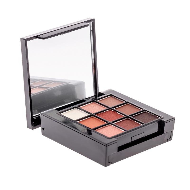 Trusa farduri pentru ochi Mineral Benina, 6 x 6 cm, 11 culori, Nude 2021 shopu.ro