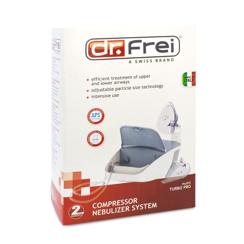 Aparat aerosoli Turbo Pro Dr. Frei, 12 ml, compact