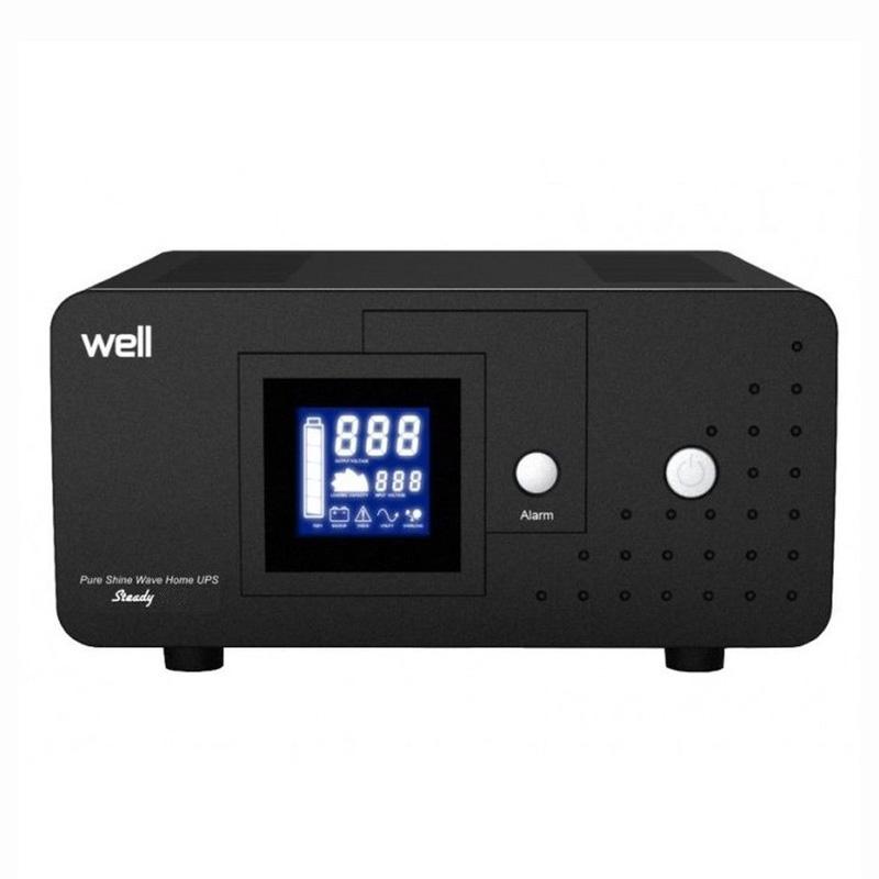 Sursa neintreruptibila pentru centrala Well, 1000 VA, LCD