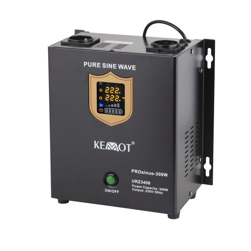 UPS centrale termice sinus pur Kemot, 300 W, Alb 2021 shopu.ro