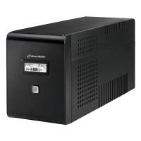 UPS line interactiv Powerwalker, 4 x Shuko, baterie 2 x 12 V / 9 Ah, 1500 VA, 900 W
