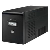 UPS line interactiv Powerwalker, 4 x Shuko, baterie 2 x12 V / 9 Ah, 2000 VA, 1200 W