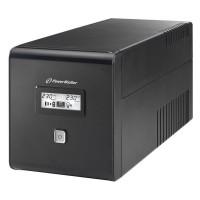 UPS line interactiv Powerwalker, iesire 2 x Shuko, baterie 2 x 12 V/7 Ah, 1000 VA, 600 W