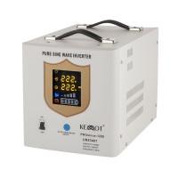UPS pentru centrale termice Kemo, sinus pur, 1200 W, Alb