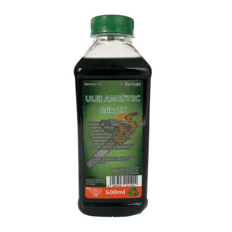 Ulei amestec Green Mix 2T, 500 ml 2021 shopu.ro