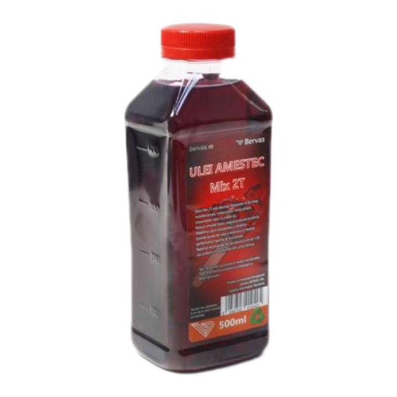 Ulei amestec Red Mix 2T, 500 ml 2021 shopu.ro