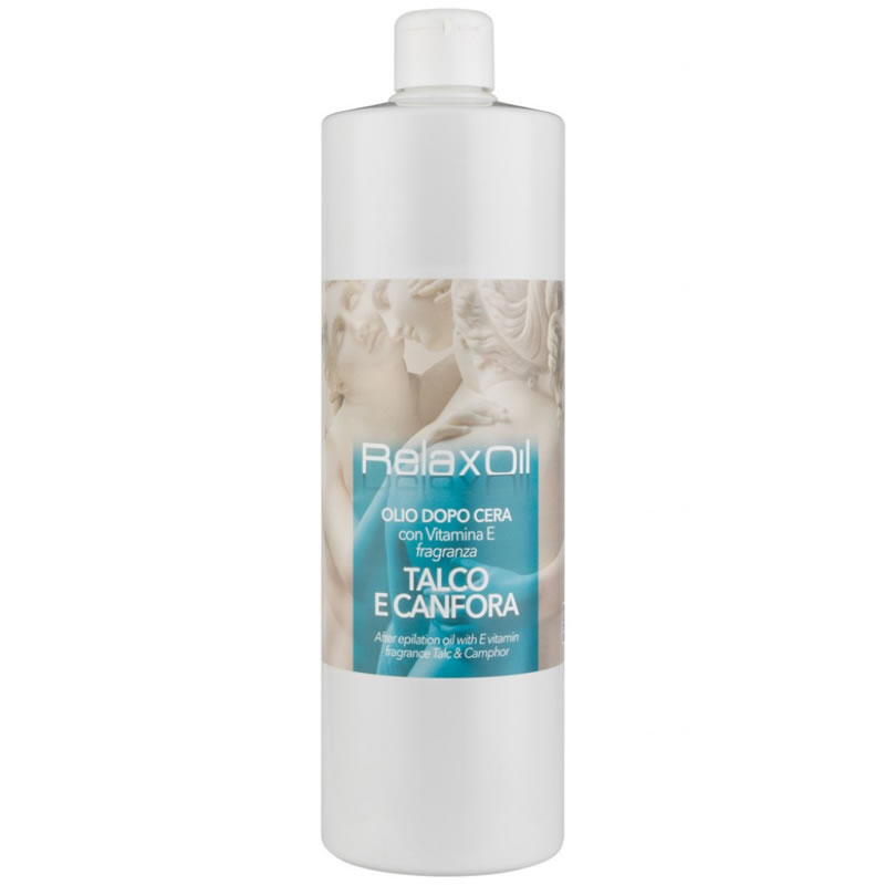 Ulei dupa depilare cu extract de talc Relax, 1000 ml 2021 shopu.ro