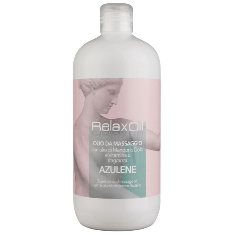 Ulei pentru masaj cu azulen Relax, 500 ml 2021 shopu.ro