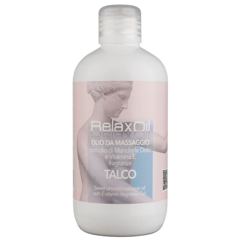 Ulei pentru masaj cu talc Relax, 500 ml