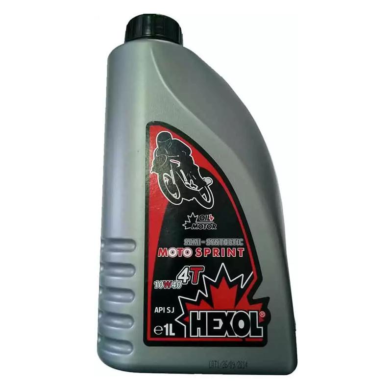 Ulei pentru motocicleta Hexol Semi Synthetic 4 T, 1 L, 10 W40 2021 shopu.ro