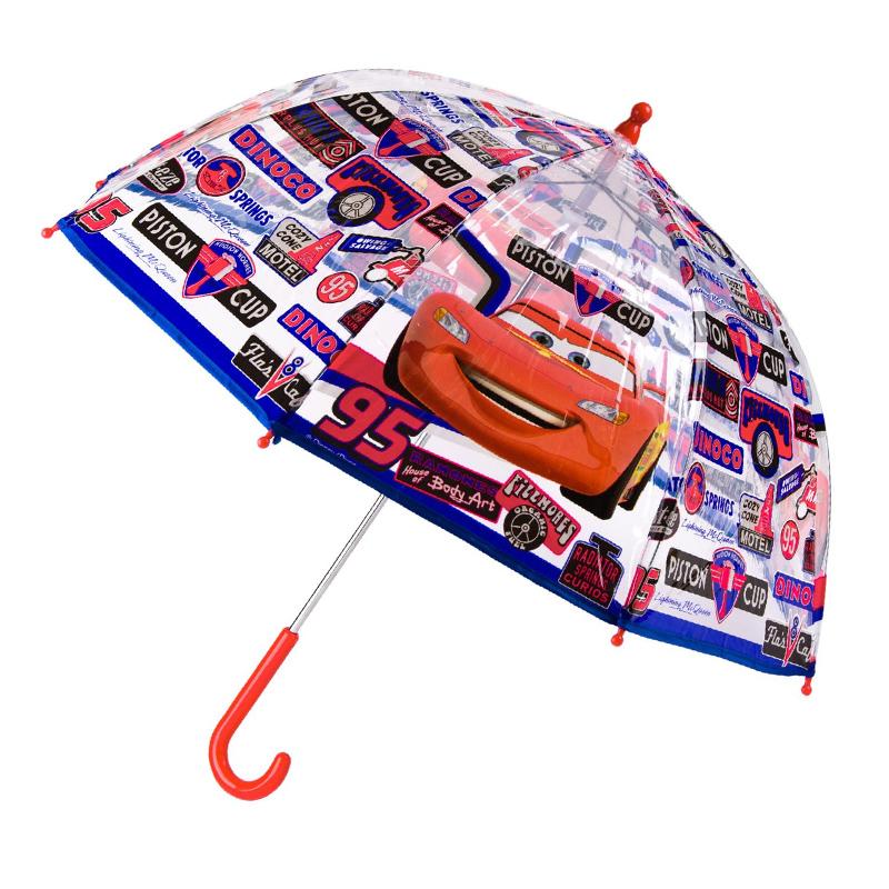 Umbrela pentru copii Cars, 60 cm, Rosu/Albastru 2021 shopu.ro