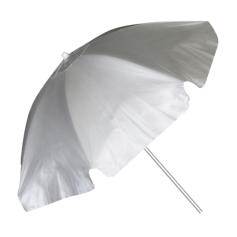 Umbrela pentru plaja, 2 m, Argintiu 2021 shopu.ro