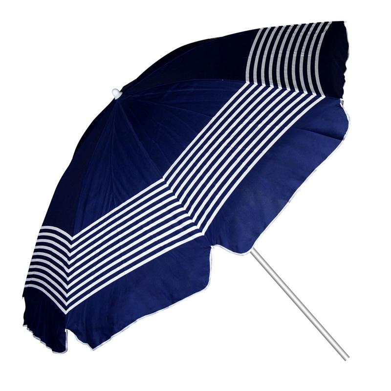 Umbrela pentru plaja, 2 m, model dungi 2021 shopu.ro