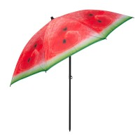 Umbrela pentru plaja Watermelon, 180 cm, model pepene