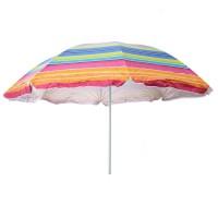 Umbrela pentru terasa D12609, rotunda, structura metal, multicolor