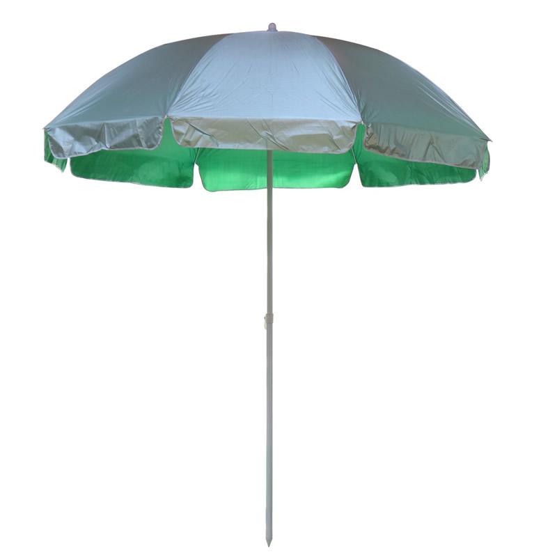 Umbrela soare pentru terasa WH002-3, rotunda, structura metal, verde shopu.ro
