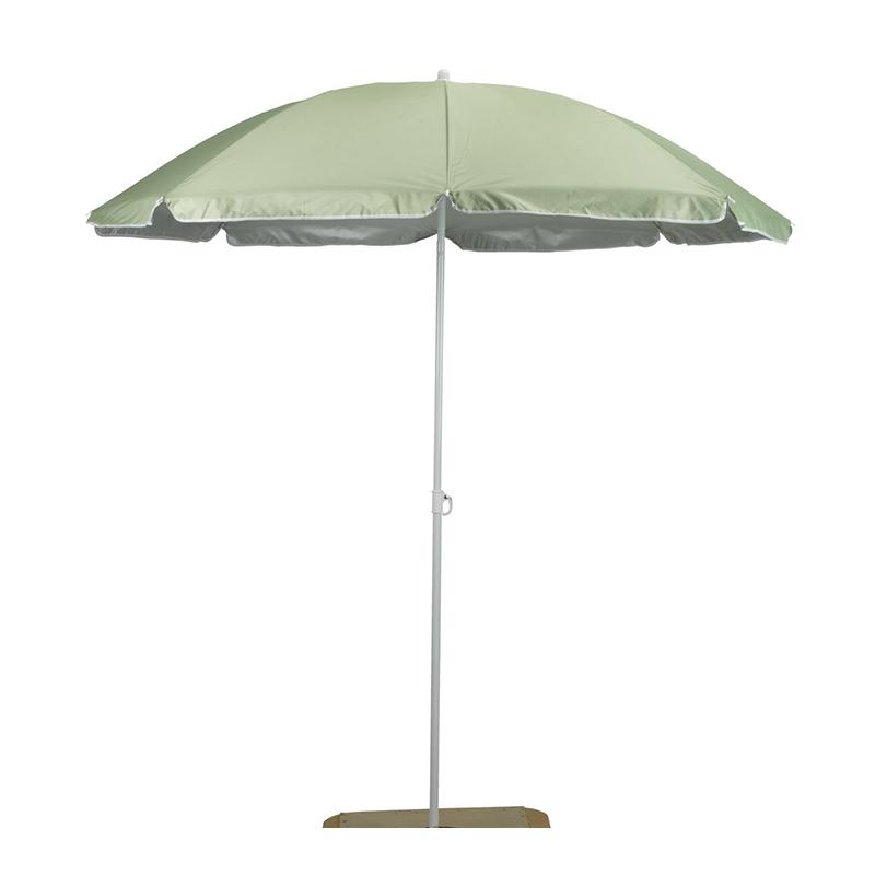 Umbrela de soare, 180 cm, poliester, picior otel, inaltime reglabila, Verde shopu.ro