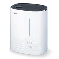 Umidificator de aer Beurer, 365 W, LED, 6 l, 400 ml/h, Alb