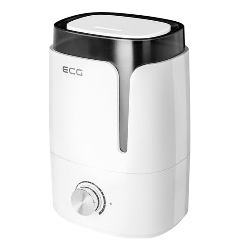 Umidificator de aer cu ultrasunete ECG, 25 W, 3.5 L, functie aromatizare 2021 shopu.ro