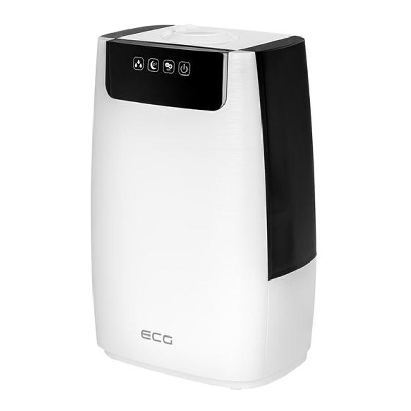 Umidificator de aer cu ultrasunete ECG, 27 W, 5 L, filtru HEPA, functie aromatizare 2021 shopu.ro