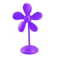 Ventilator de birou Florissima Trisa, 1 W, Violet