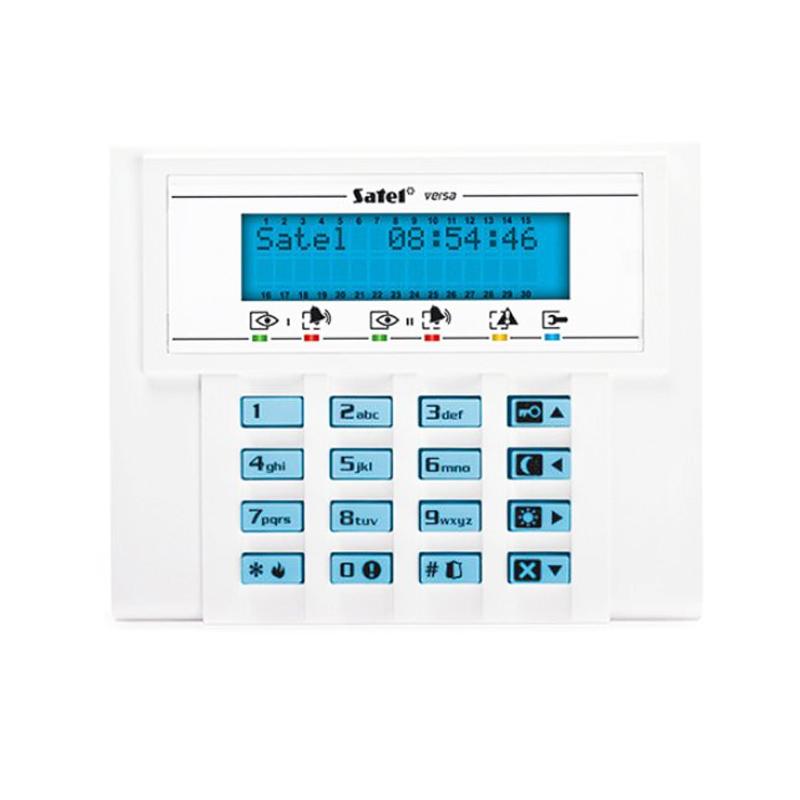 Tastatura LCD pentru centralele Versa 5 Satel, lumina fundal imagine