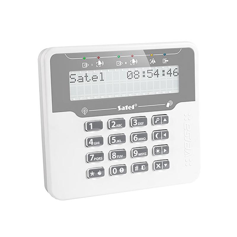 Tastatura wireless LCD pentru centralele VERSA Satel imagine