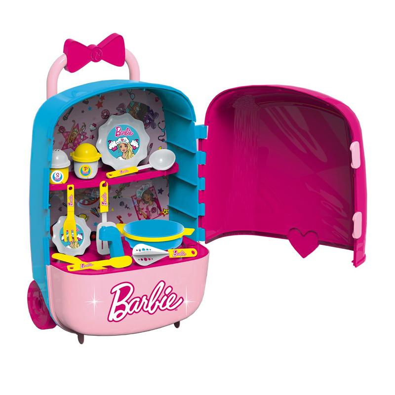 Bucatarie tip valiza 2 in 1 Barbie, 34 x 19 x 54 cm, 3 ani+ 2021 shopu.ro