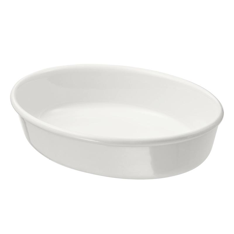 Vas ceramic pentru cuptor/servit, 26 x 21 cm, model oval 2021 shopu.ro