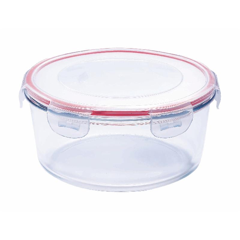 Vas termorezistent rotund Vabene, 450 ml, capac plastic 2021 shopu.ro
