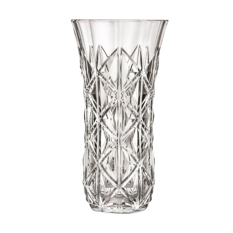 Vaza Enigma RCR, 30 cm, sticla cristalina, transparenta shopu.ro