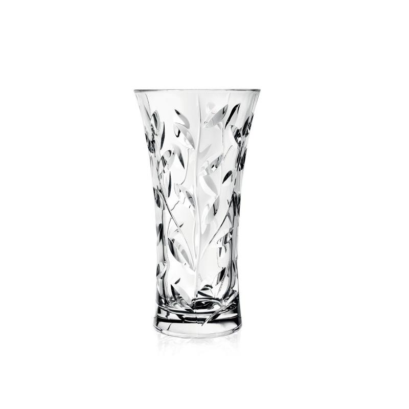 Vaza Laurus RCR, 30 cm, sticla cristalina, transparenta 2021 shopu.ro