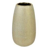 Vaza ceramica Gold Scratch, 27 cm