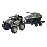 Vehicul militar cu remorca si tanc, 52 cm
