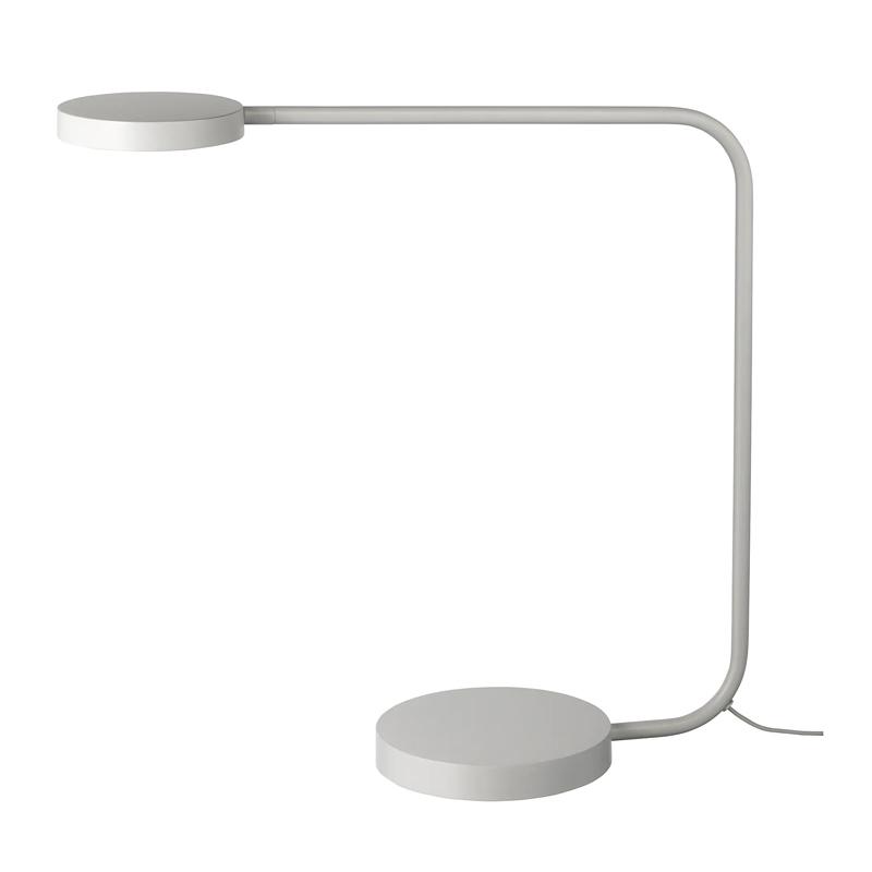 Veioza birou, 7 W, inaltime 44 cm, diametru baza 16 cm, Argintiu 2021 shopu.ro