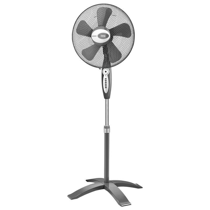 Ventilator cu picior Teesa TSA8020, timer si telecomanda 2021 shopu.ro