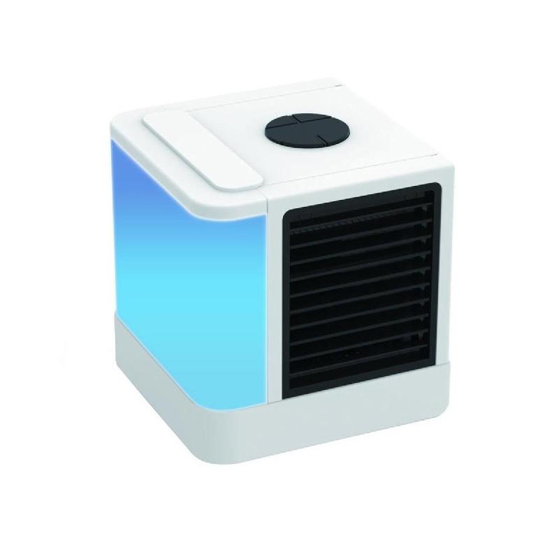 Ventilator de birou ArcticAir, 3 viteze, 7 culori, LED, USB