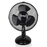 Ventilator de birou Floria, 25 W, 2 trepte de viteza, functie oscilare