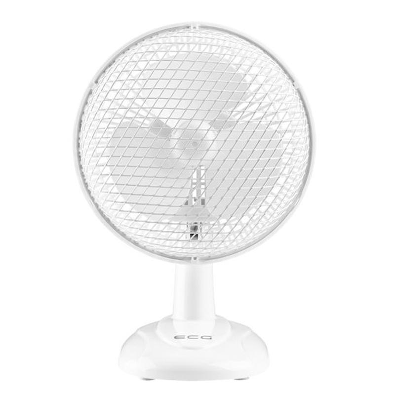 Ventilator de masa ECG, 20 W, 15 cm, 2 viteze, Alb 2021 shopu.ro